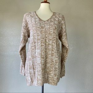 3 for $25 ❤ Spice of Life V- Neck Neutral sweater